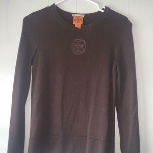 Tory Burch 100% wool crew neck sweater